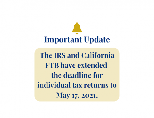 Individual Filing Deadline Extension & Payment